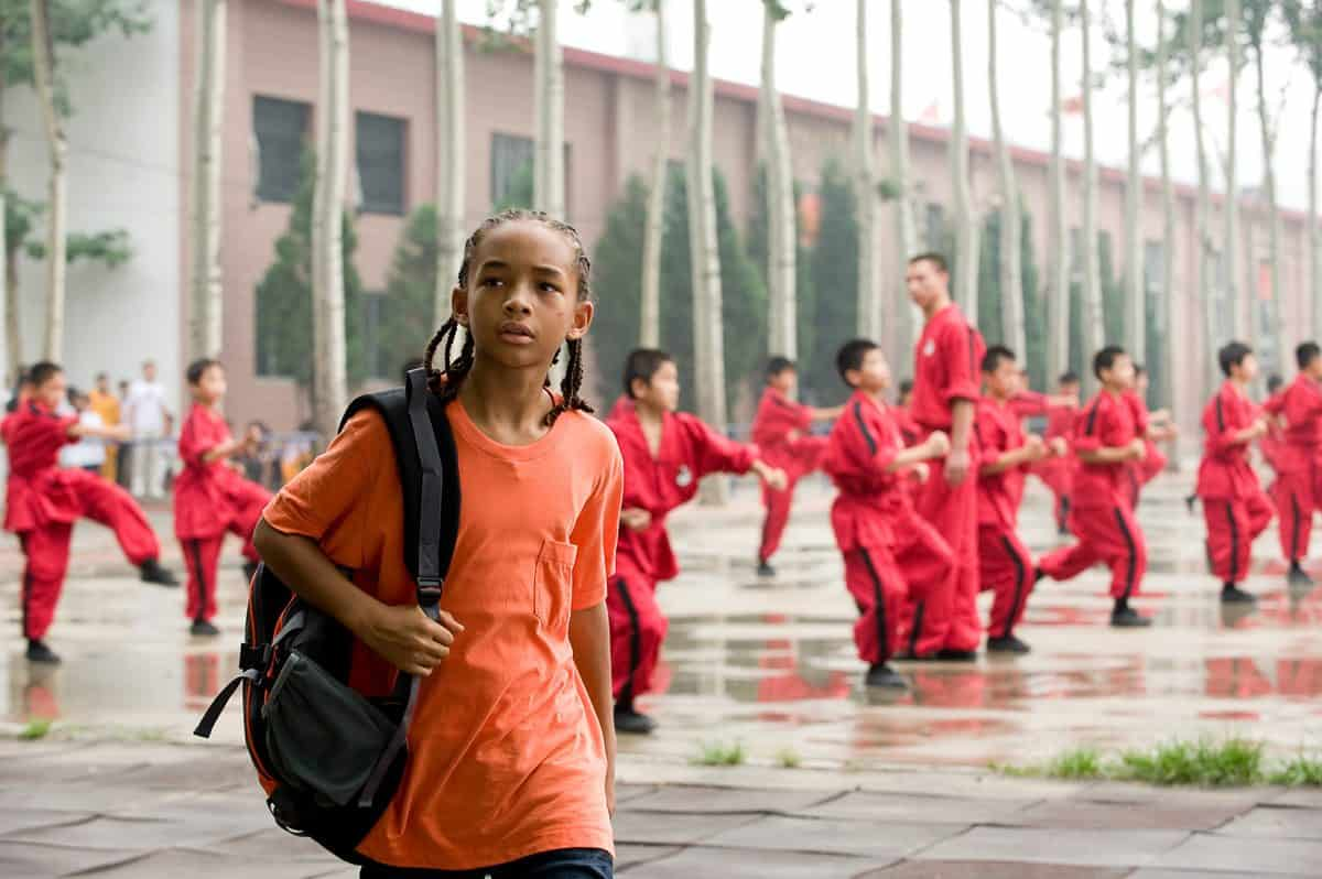 "Jaden Smith as ""Dre Parker"" in Columbia Pictures' THE KARATE KID."
