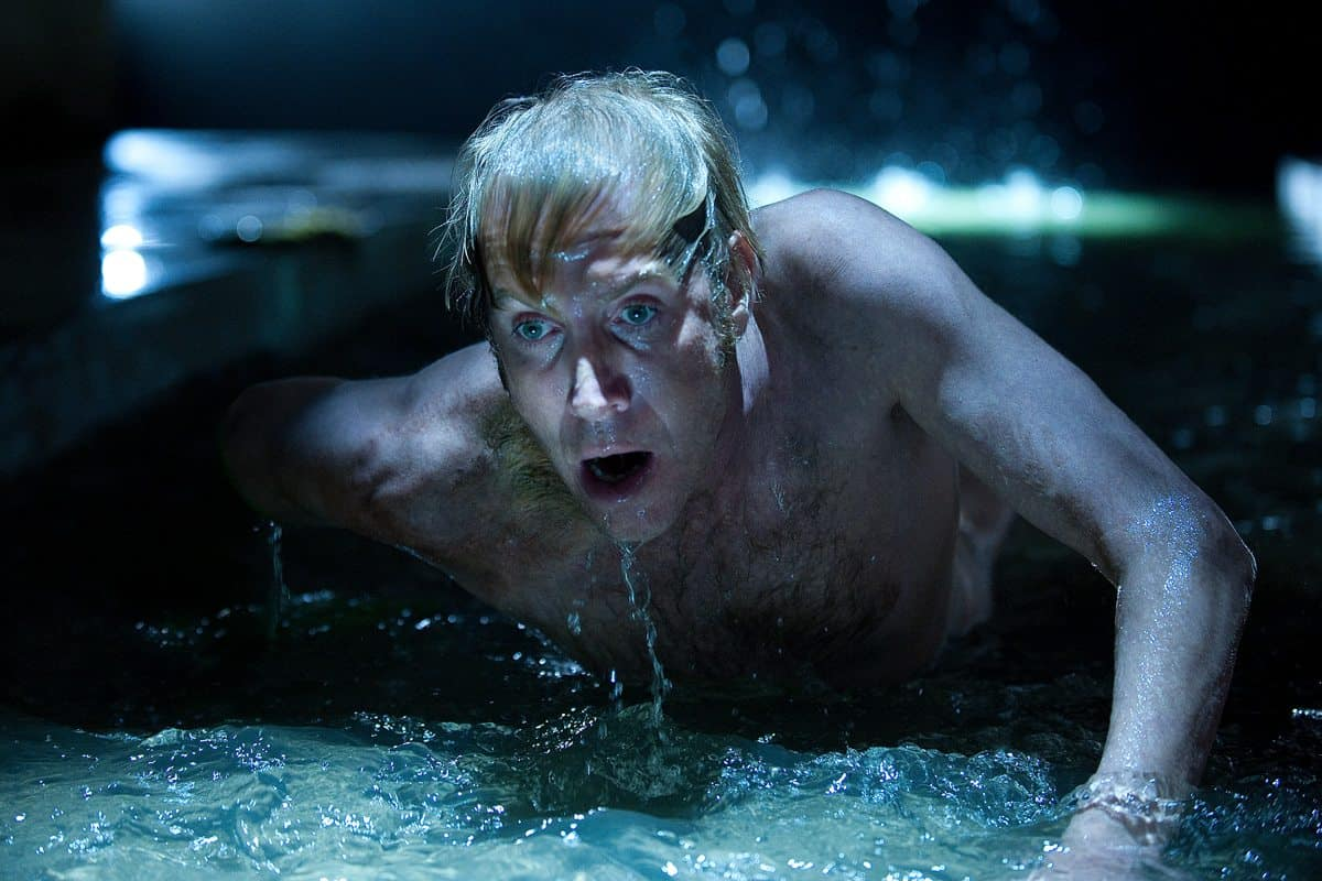 "Rhys Ifans in Columbia Pictures' ""The Amazing Spider-Man,"" starring Andrew Garfield."