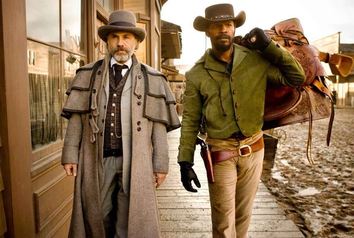CHRISTOPH WALTZ and JAMIE FOXX star in DJANGO UNCHAINED Photo: Andrew Cooper, SMPSP © 2012 The Weinstein Company.