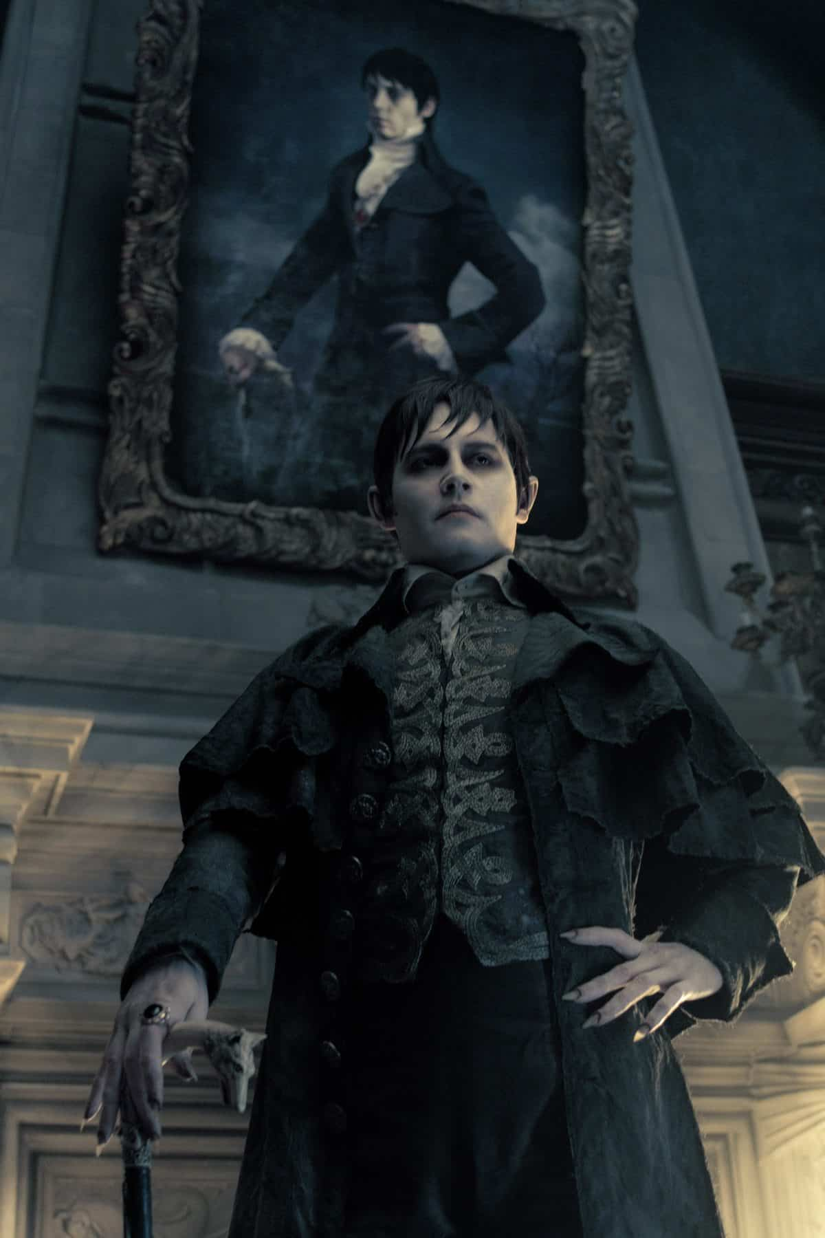 JOHNNY DEPP as Barnabas Collins in Warner Bros. PicturesÕ and Village Roadshow PicturesÕ gothic comedy ÒDARK SHADOWS,Ó a Warner Bros. Pictures release. Photo by Peter Mountain