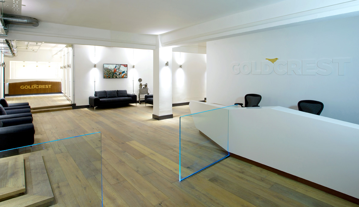 Goldcrest -Reception-main