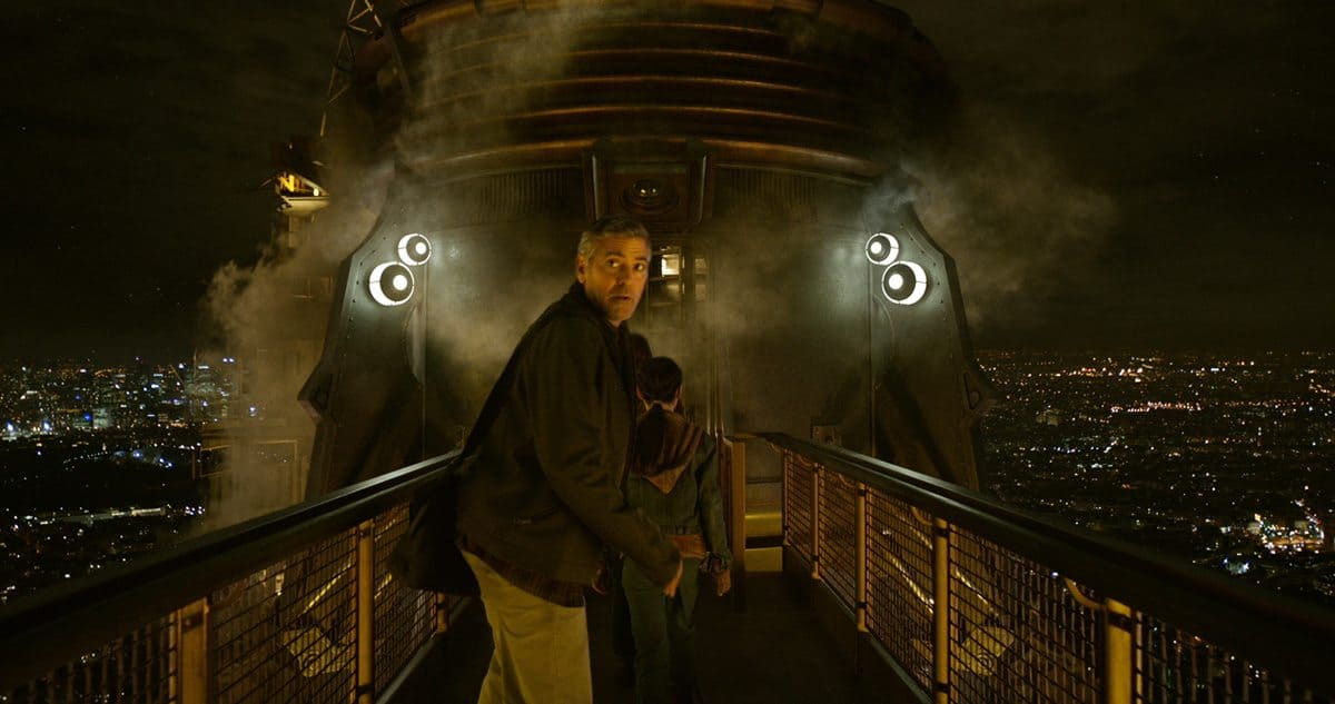 Disney's TOMORROWLAND..Frank Walker (George Clooney)..Ph: Film Frame..©Disney 2015
