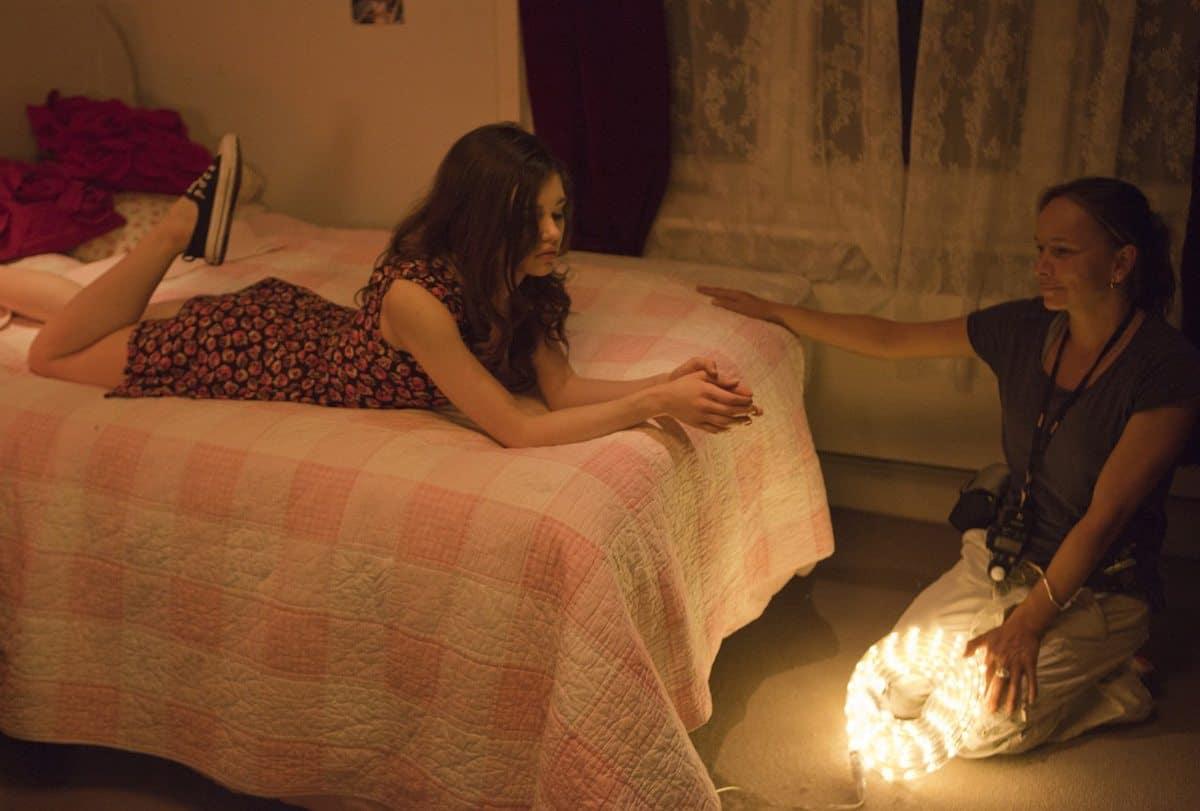 Bedside Light ... taking care to illuminate an intimate scene on <em>Social Suicide</em>