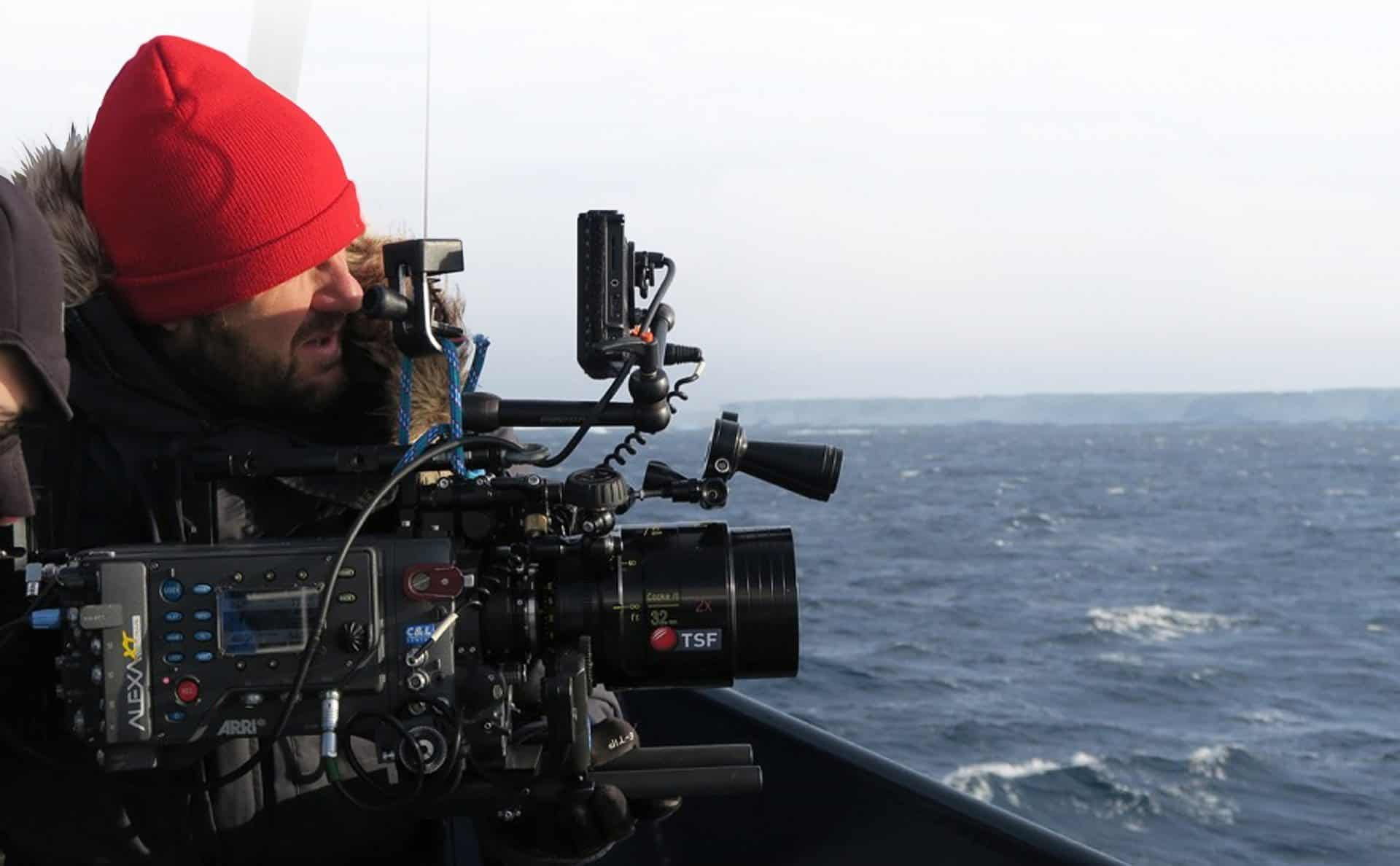 Cooke... Matias Boucard using the 32 Anamorphic on the Odyssey