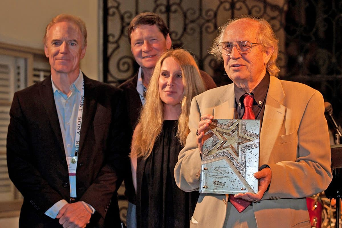 Winner... Vittorio Storaro AIC ASC was honoured with Cine Gear's Cinematography Lifetime Achievement Award