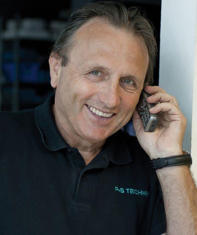 P+S Technik CEO, Alfred Piffl