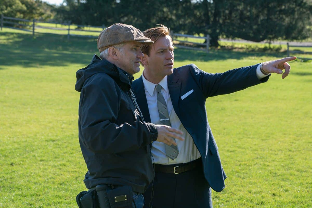 Martin Ruhe with director Ewan McGregor