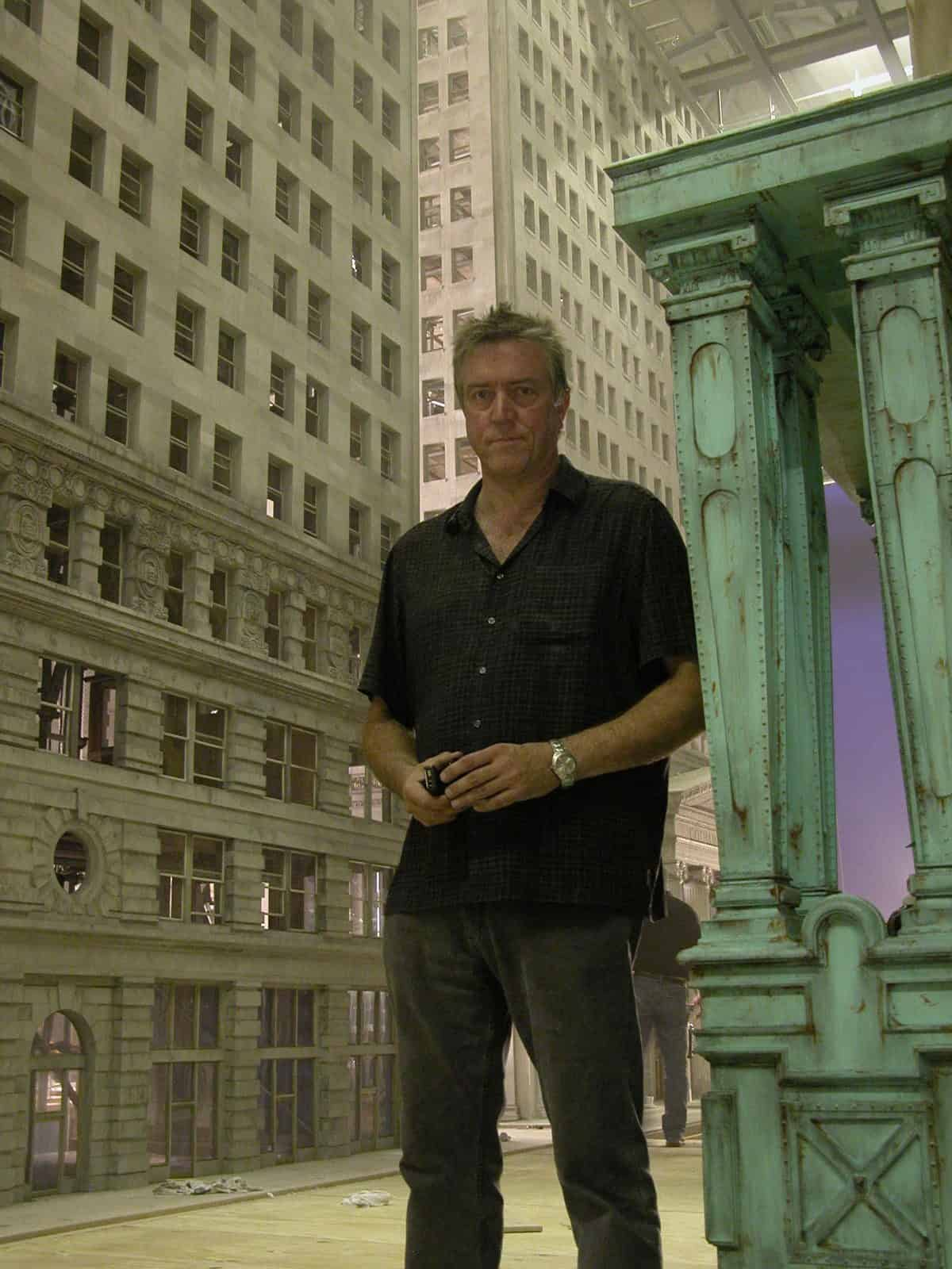 Steve takes a stroll through Gotham City