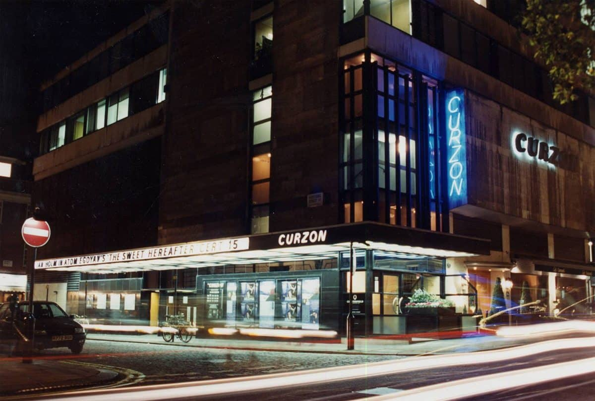 The Curzon cinema in Mayfair