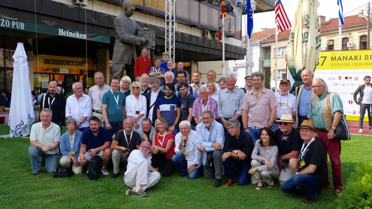 Say cheese… IMAGO Annual General Assembly delegates in Bitola, Macedonia.