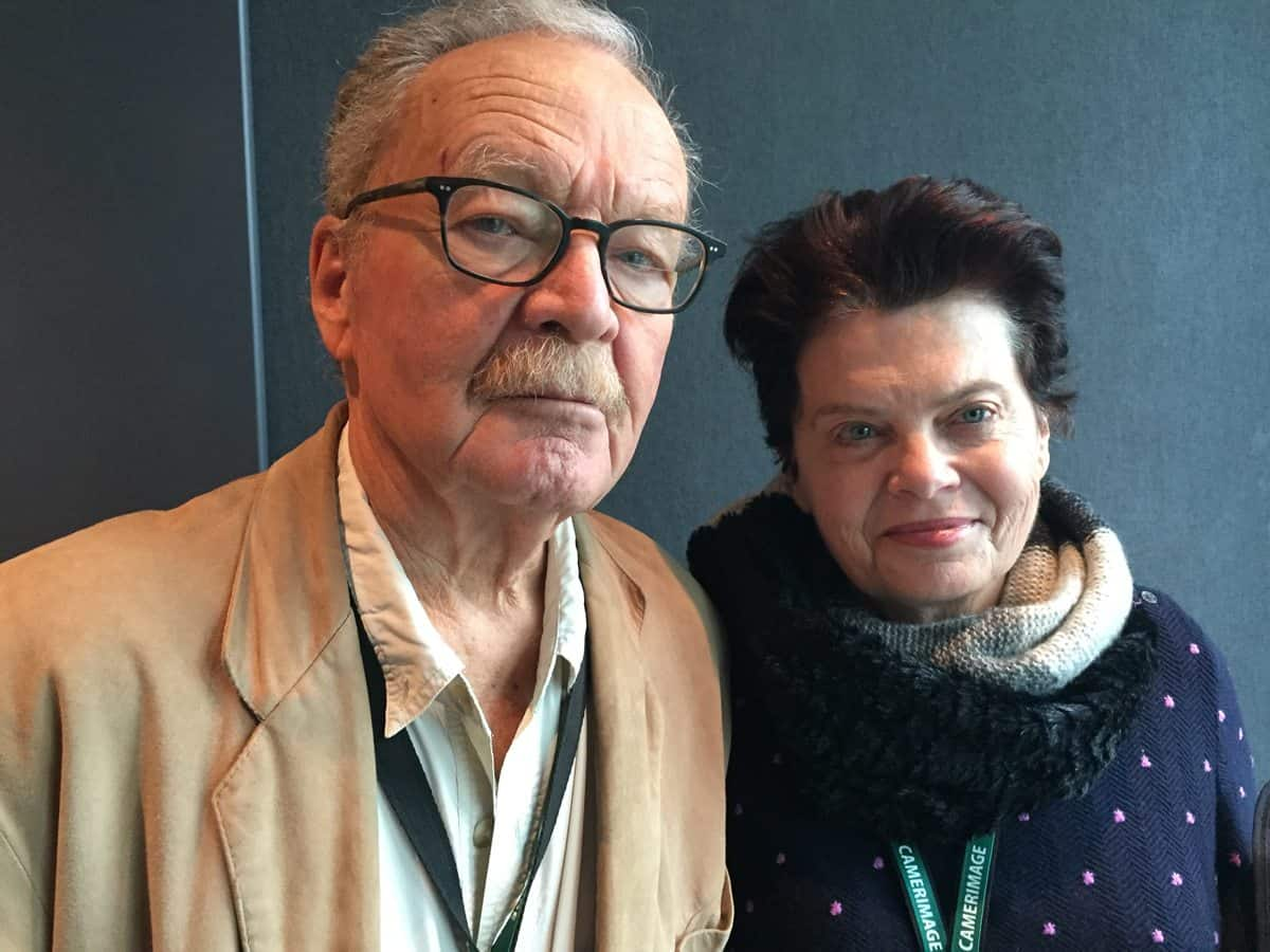 Camerimage Lifetime Laureate Michael Chapman and Amy Holden Jones