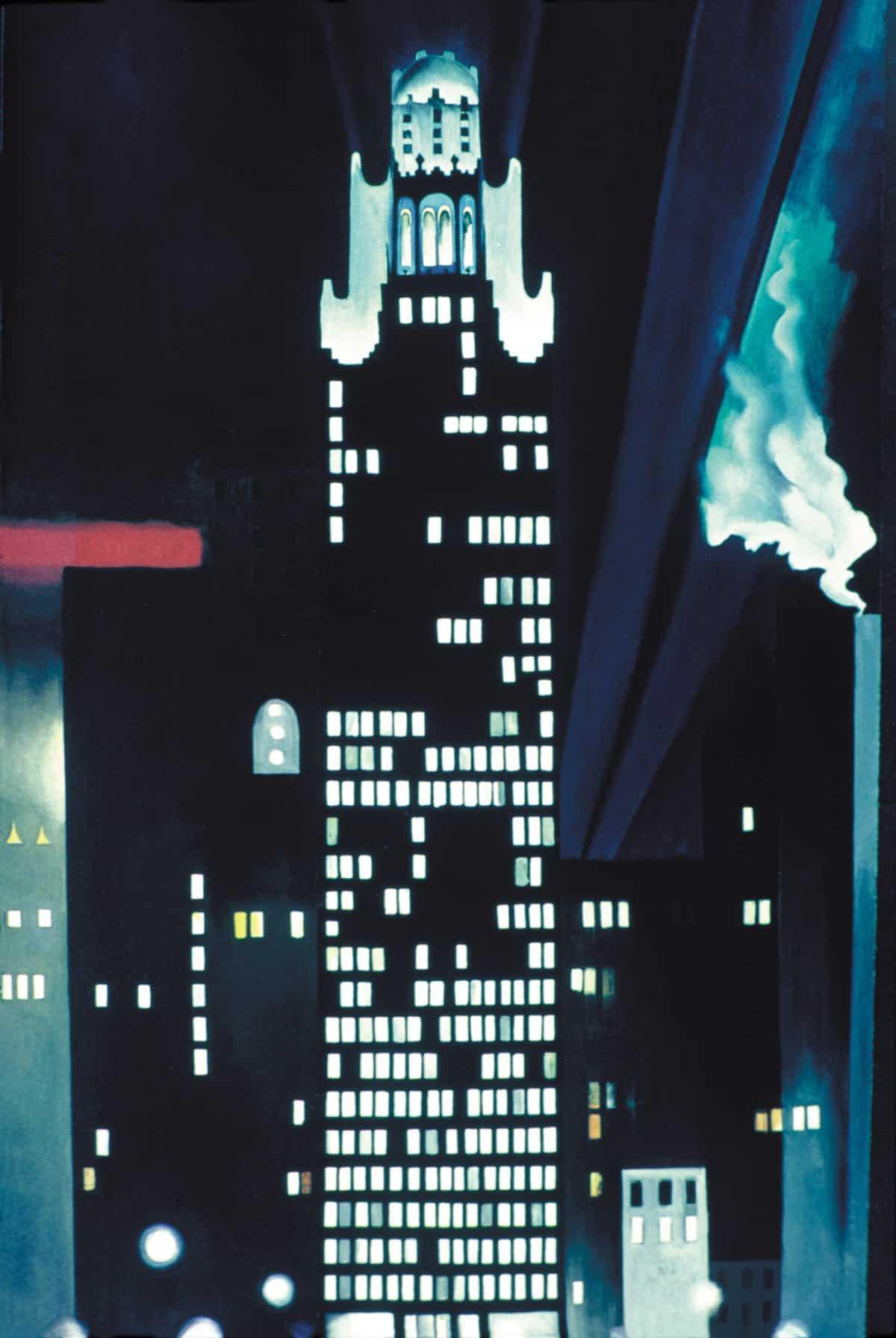 Georgia O'Keeffe, <em>American Radiator Building</em>, 1924