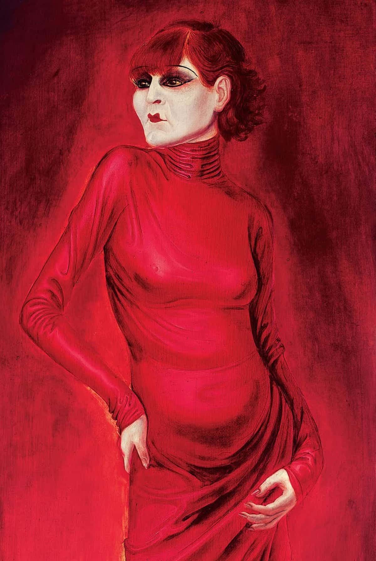 Otto Dix, <em>The Dancer Anita Berber</em>, 1925