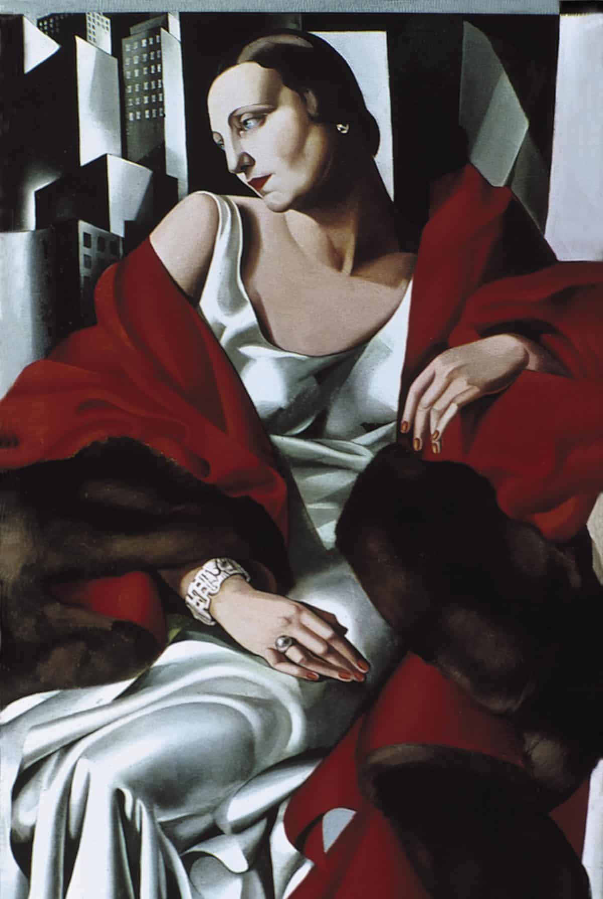 Tamara de Lempicka, <em>Portrait Of Madame Boucard</em>, 1931