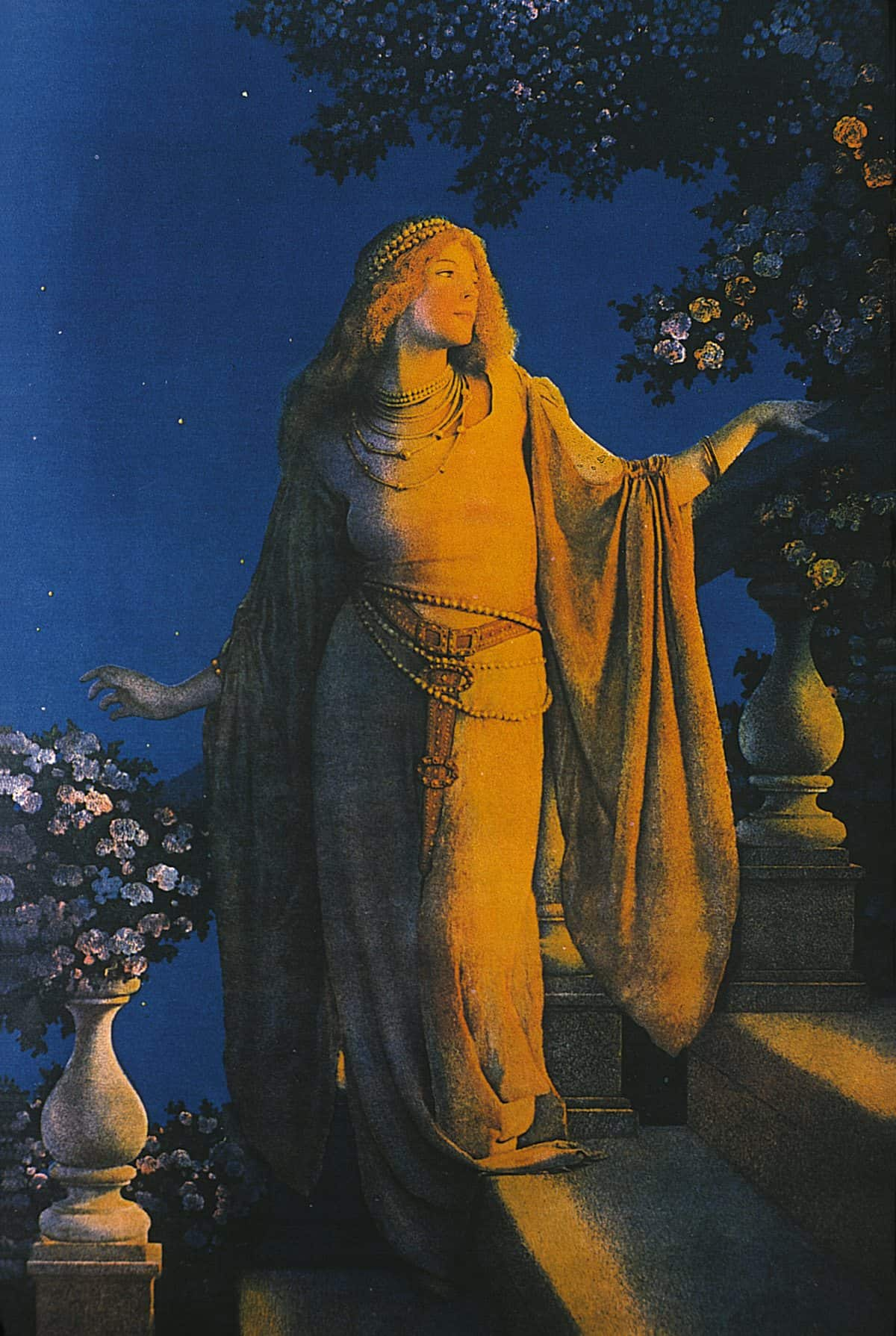 Maxfield Parrish, <em>Enchantment aka Cinderella</em>, 1914