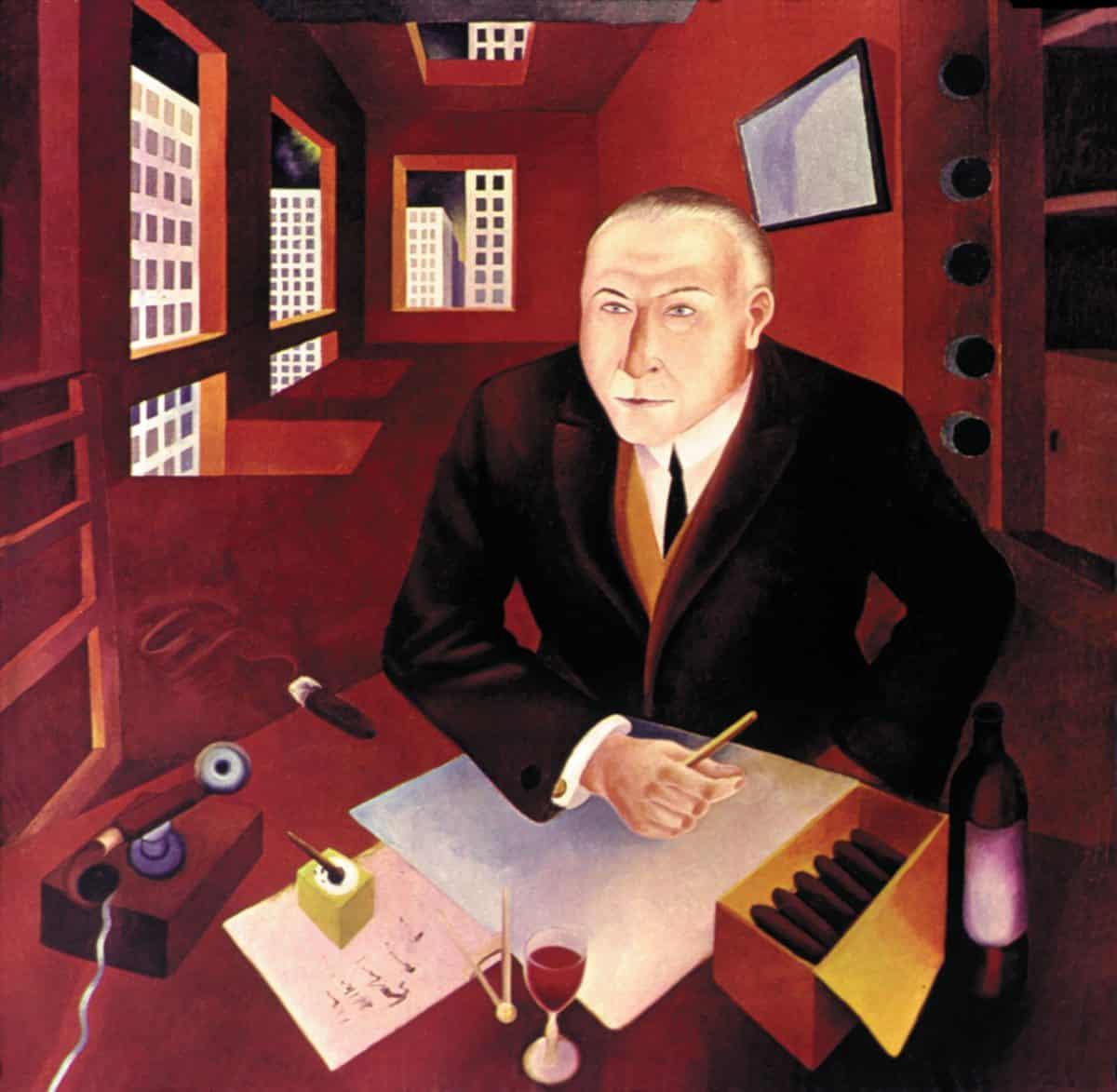 Heinrich Maria Davringhausen, </em>The Profiteer</em>, 1920