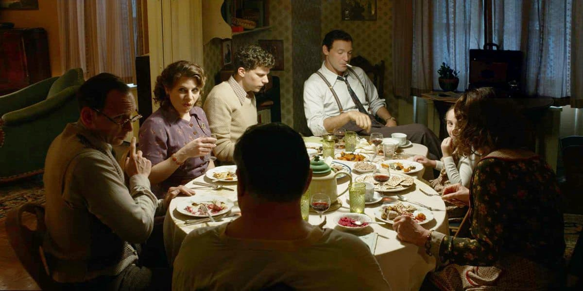 <em>Café Society</em> – dinner with the Dorfman family
