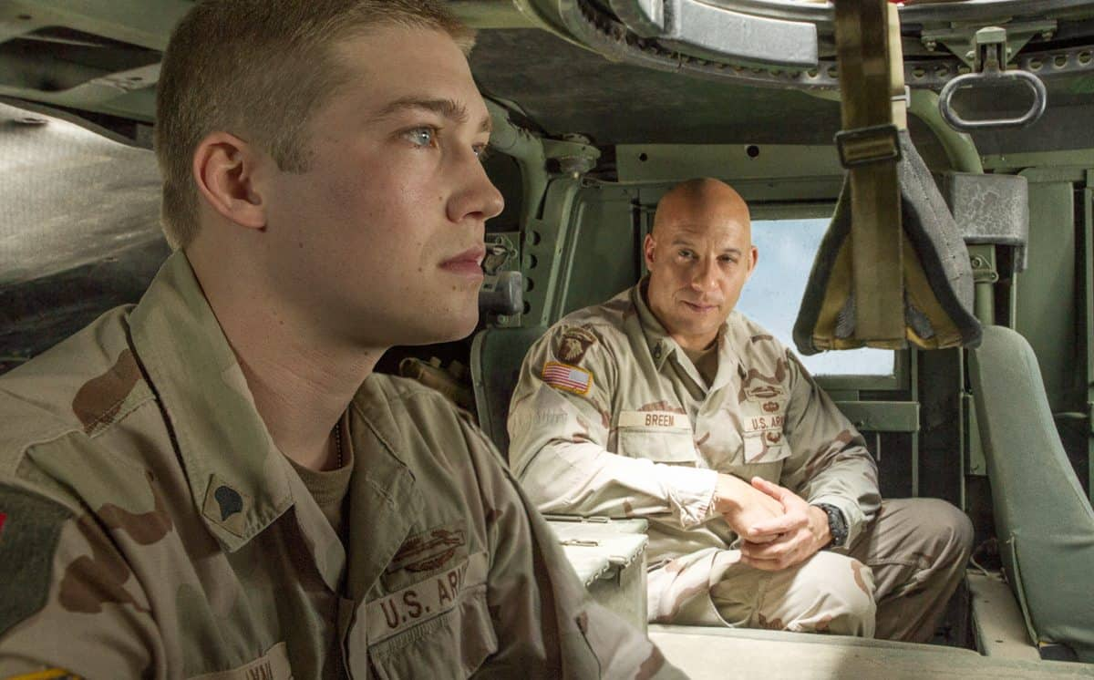 Billy Lynn and Shroom (Vin Diesel)
