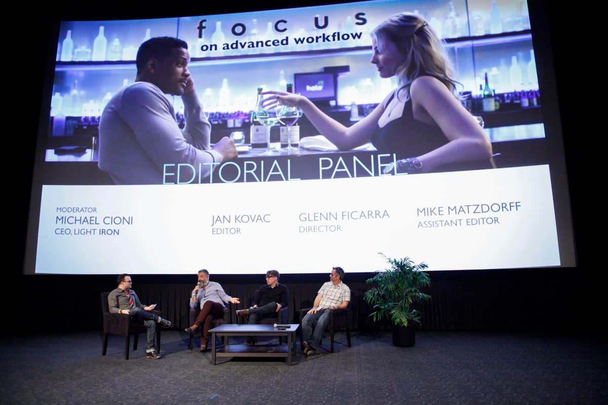 The Light Iron Focus event held at Arclight Cinemas in 2015
