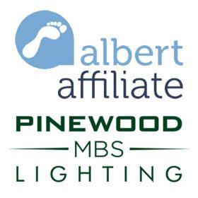 Pinewood MBS Lighting named first Albert Affiliate