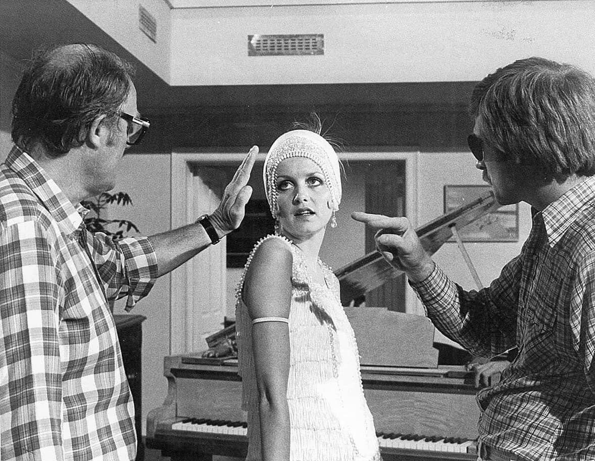 Shaping the light with Twiggy on <em>There Goes The Bride</em> (1980)