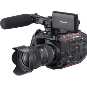 Panasonic EVA1 makes UK debut at Media Production Show 2017