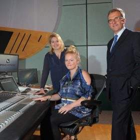Secretary of State for Digital, Culture, Media and Sport Visits Pinewood Studios