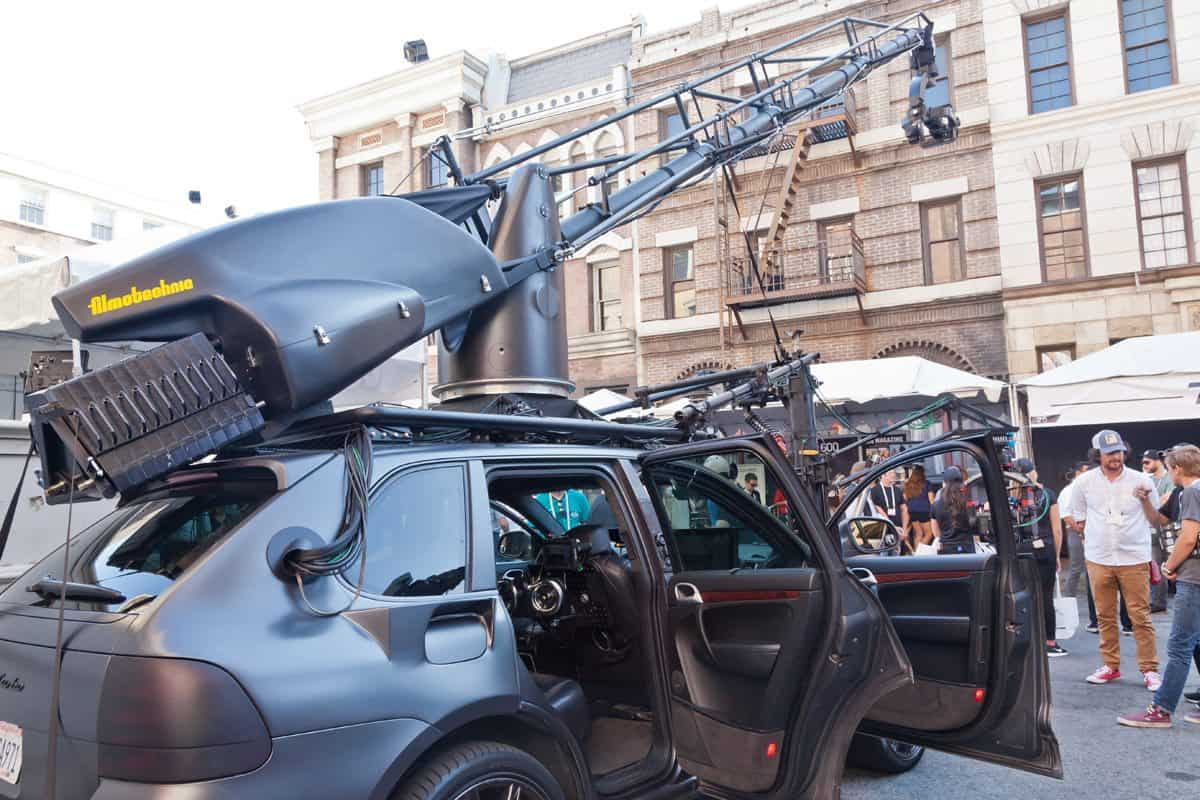 Filmtechnic camera car system Russian Arm