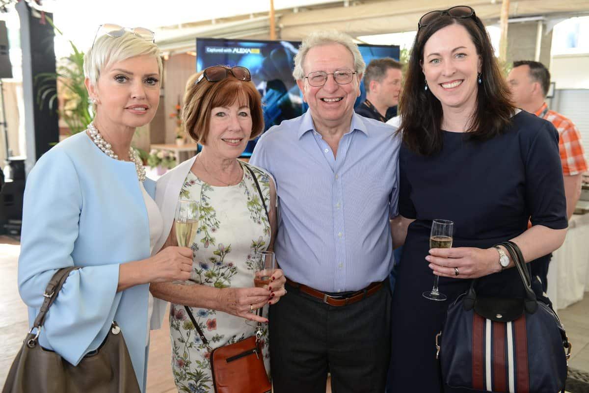 Judith Evans (ARRI Rental), Eileen and Alan Lowne (British Cinematographer Magazine) and Ute Böhringer-Mai (ARRI)