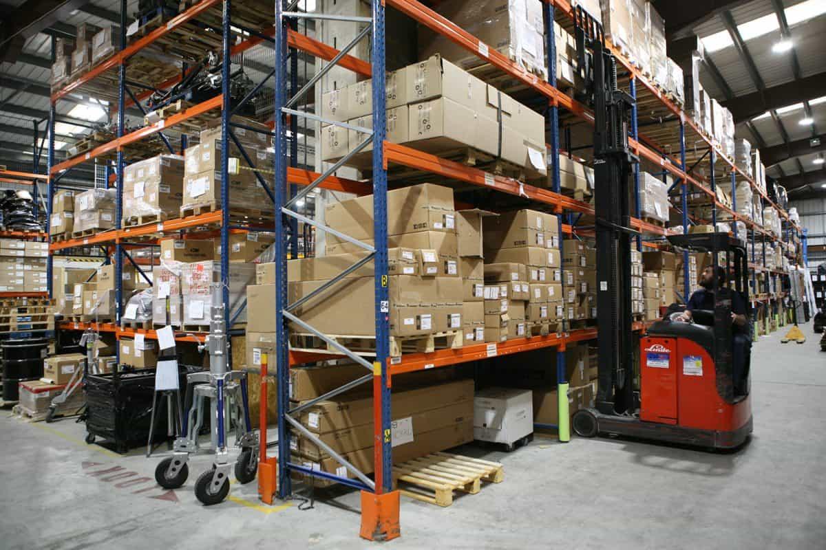 AC-ET HQ - Multi Million Pound Equipment Stockholding