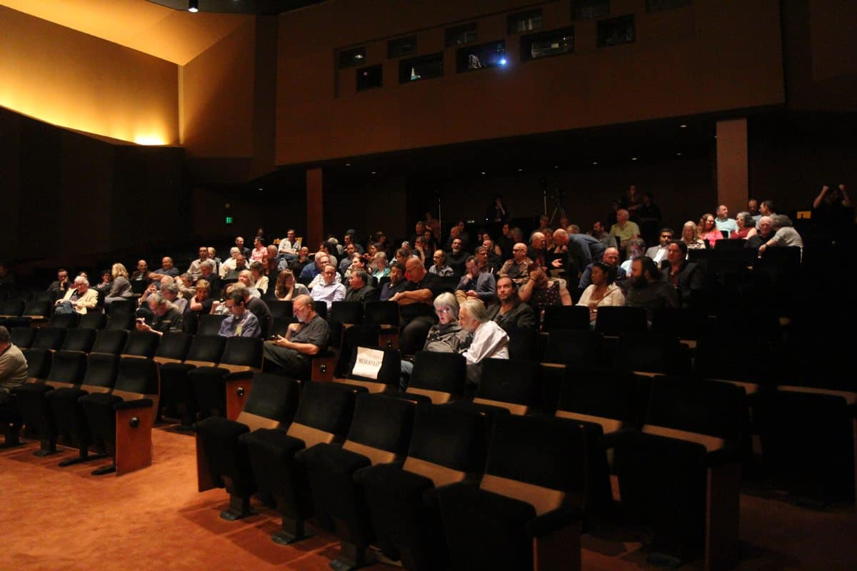 Attendees at The Reel Thing film conference