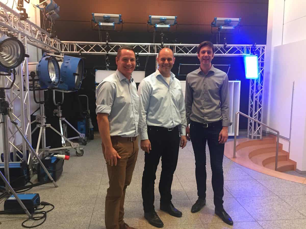 Markus Lampier, Markus Zeiler and Tino Schuldt