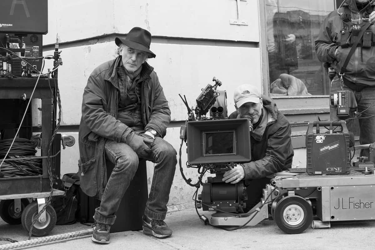 DP Ed Lachman and B-camera Operator Peter Agliata on-set. Credit: Mary Cybulski