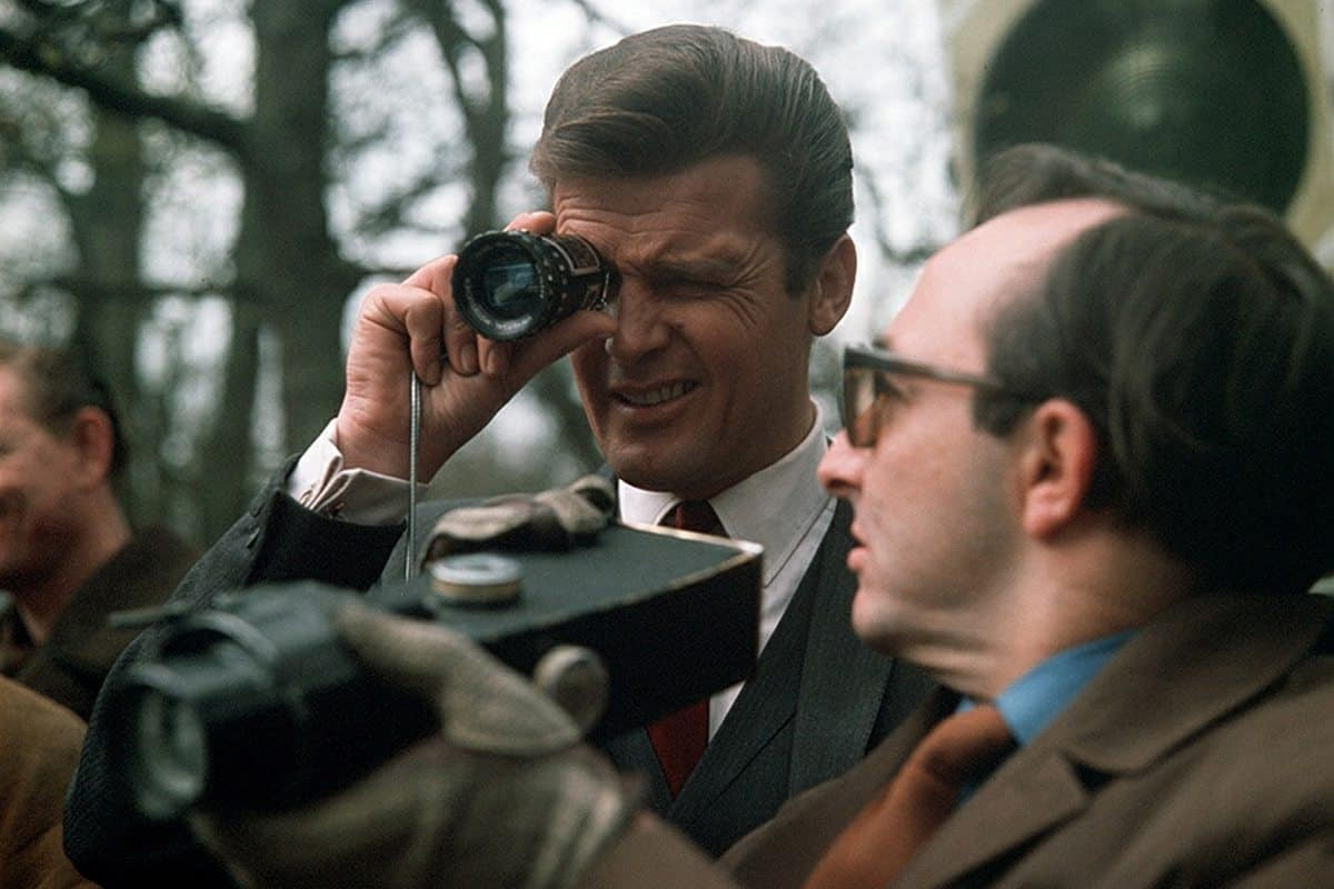 <em>The Saint</em>... Mills' first TV series as camera operator, and first experience working with Roger Moore, who also directed this episode