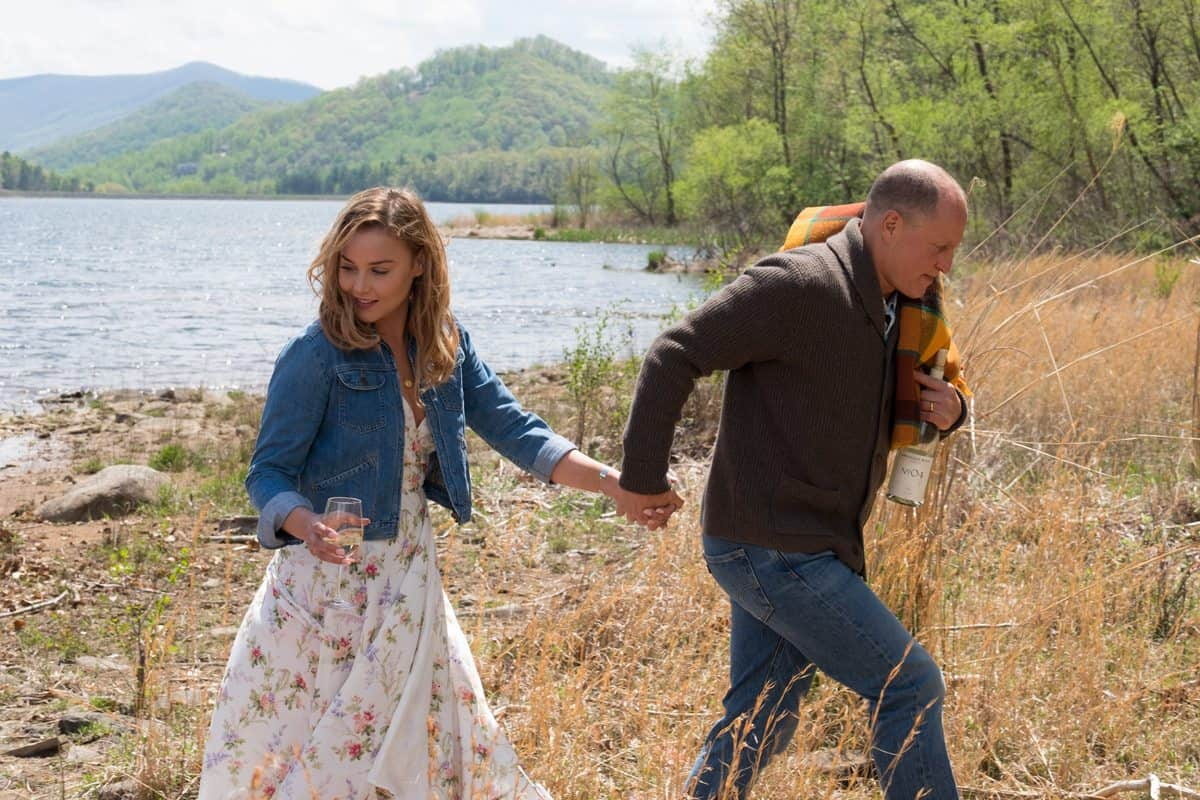Abbie Cornish and Woody Harrelson in the film. Photo by Merrick Morton.