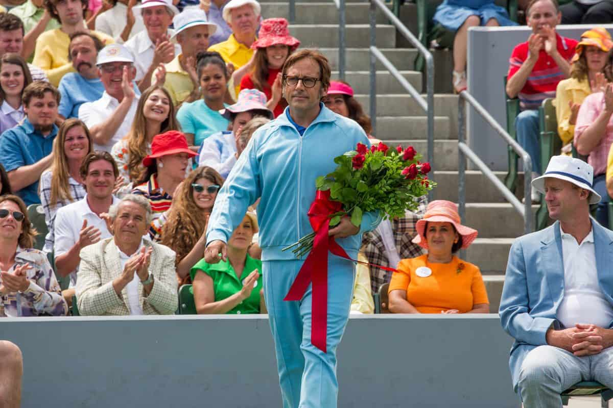 Steve Carell steps out as Bobby Riggs