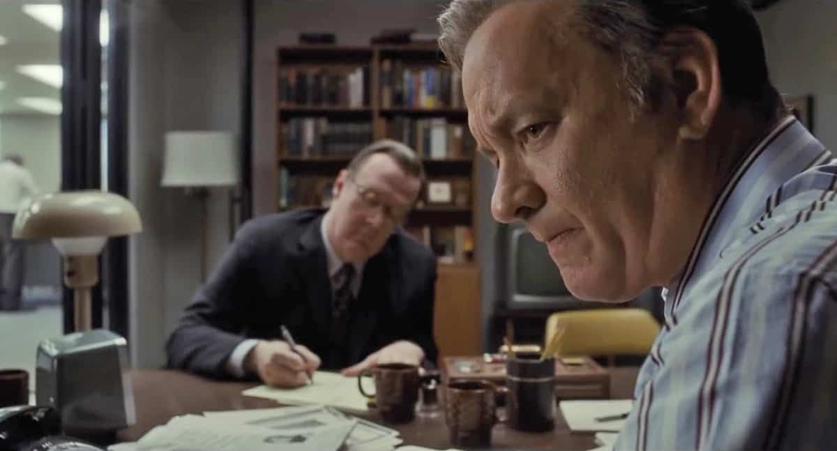 <em>The Post</em>, another collaboration between messrs Spielberg, Hanks and Kaminski - set for release in January 2018
