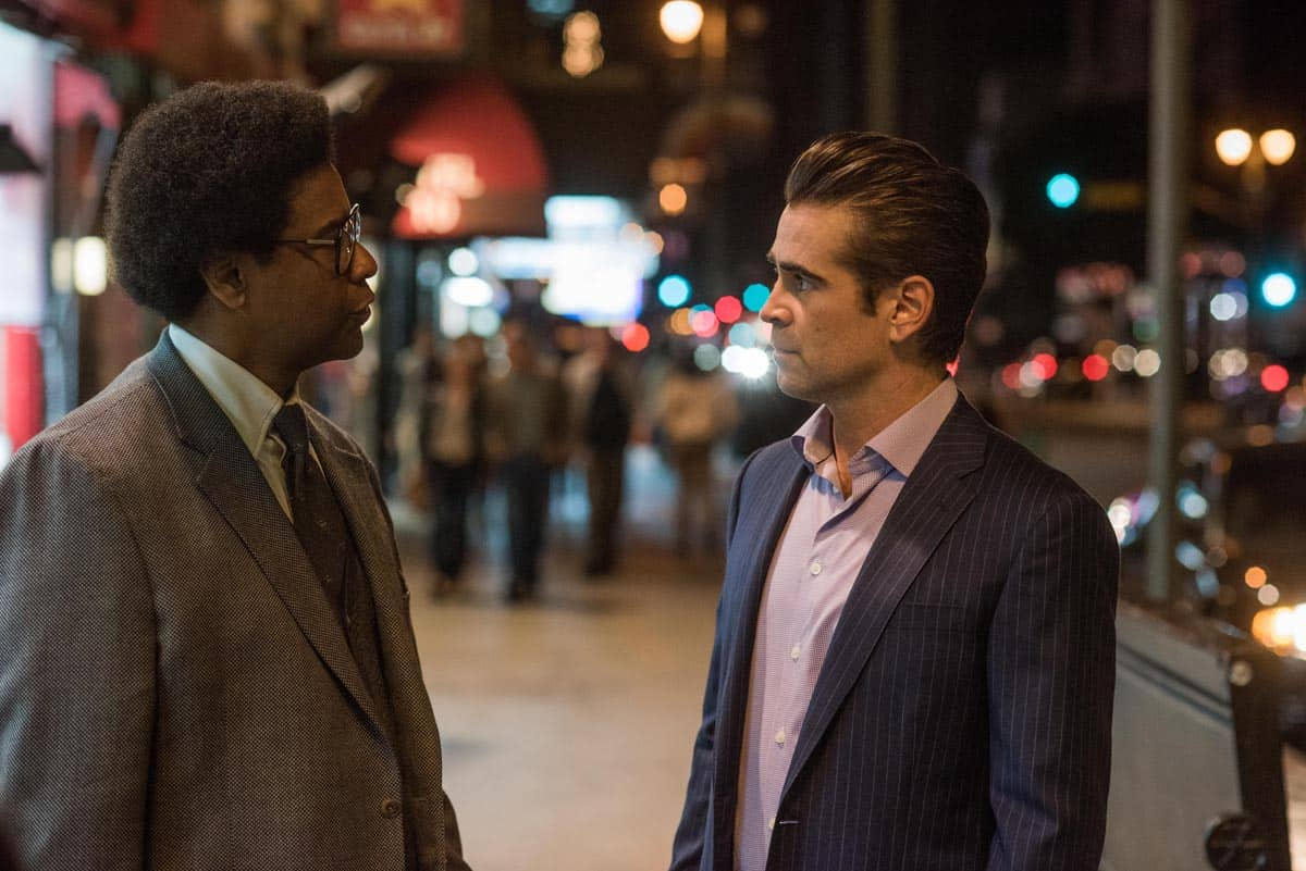 Denzel Washington and Colin Farrell star in <em>Roman J. Israel Esq.</em>