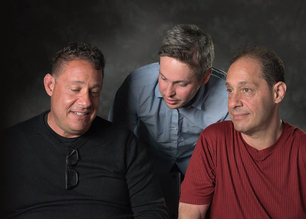 Three Identical Strangers: Bobby Shafran, director Tim Wardle, and David Kellman
