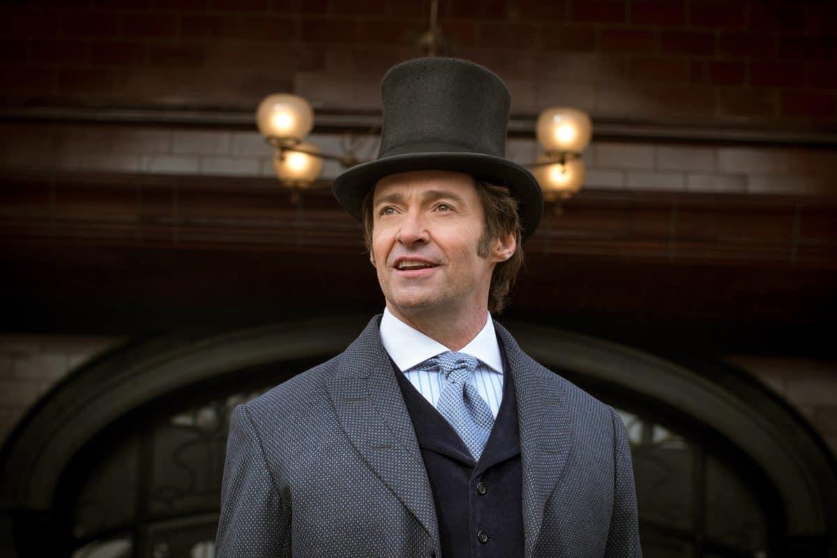 Hugh Jackman stars as impresario P. T. Barnum