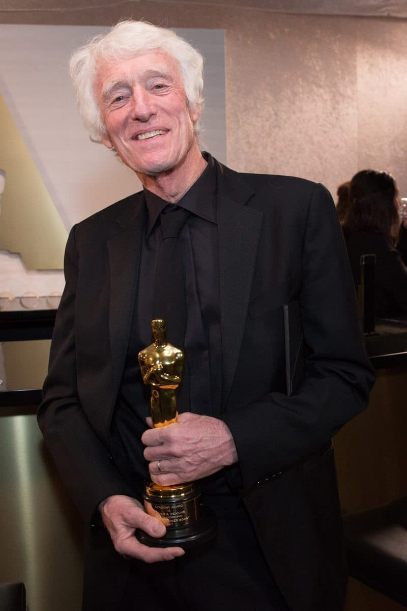 Roger Deakins at the Governors Ball following the Oscars®. Credit: Troy Harvey / A.M.P.A.S.