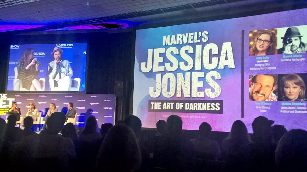 The 'Jessica Jones - the Art of Darkness' panel