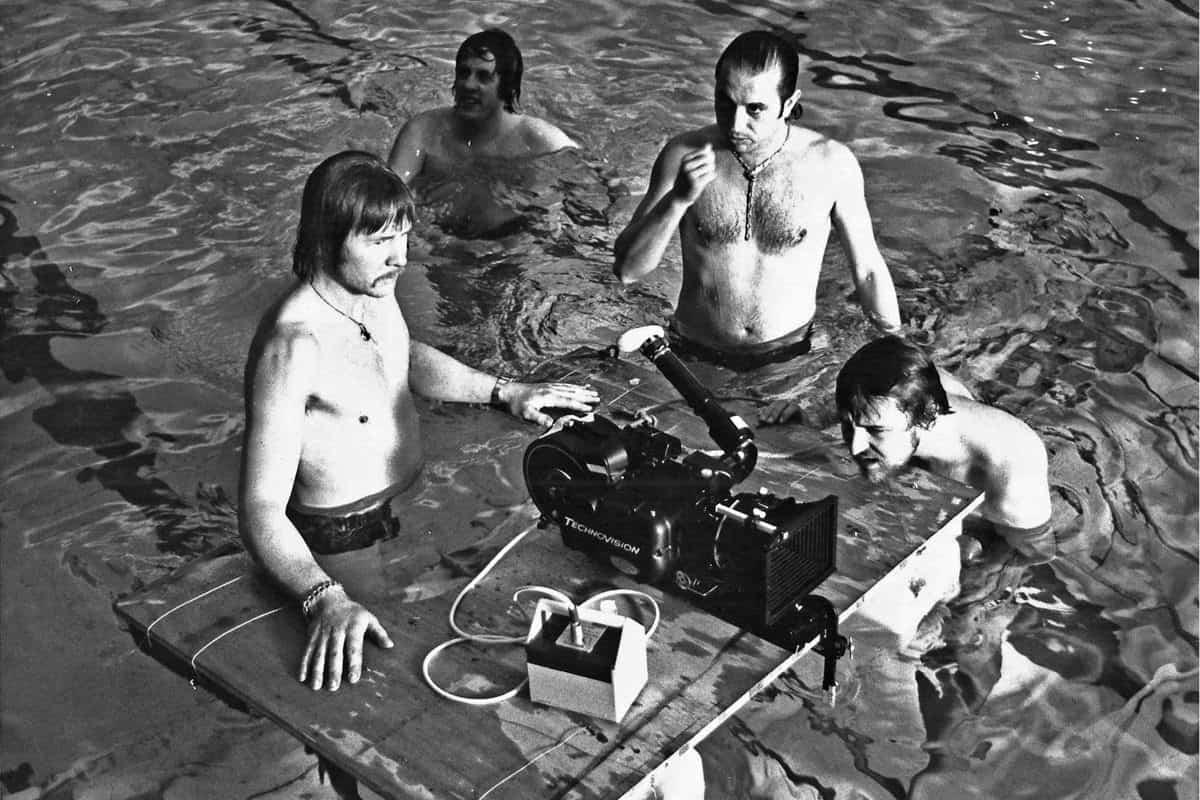 1977-78... <em>Agatha</em> at RAC Club Piccadilly Pool