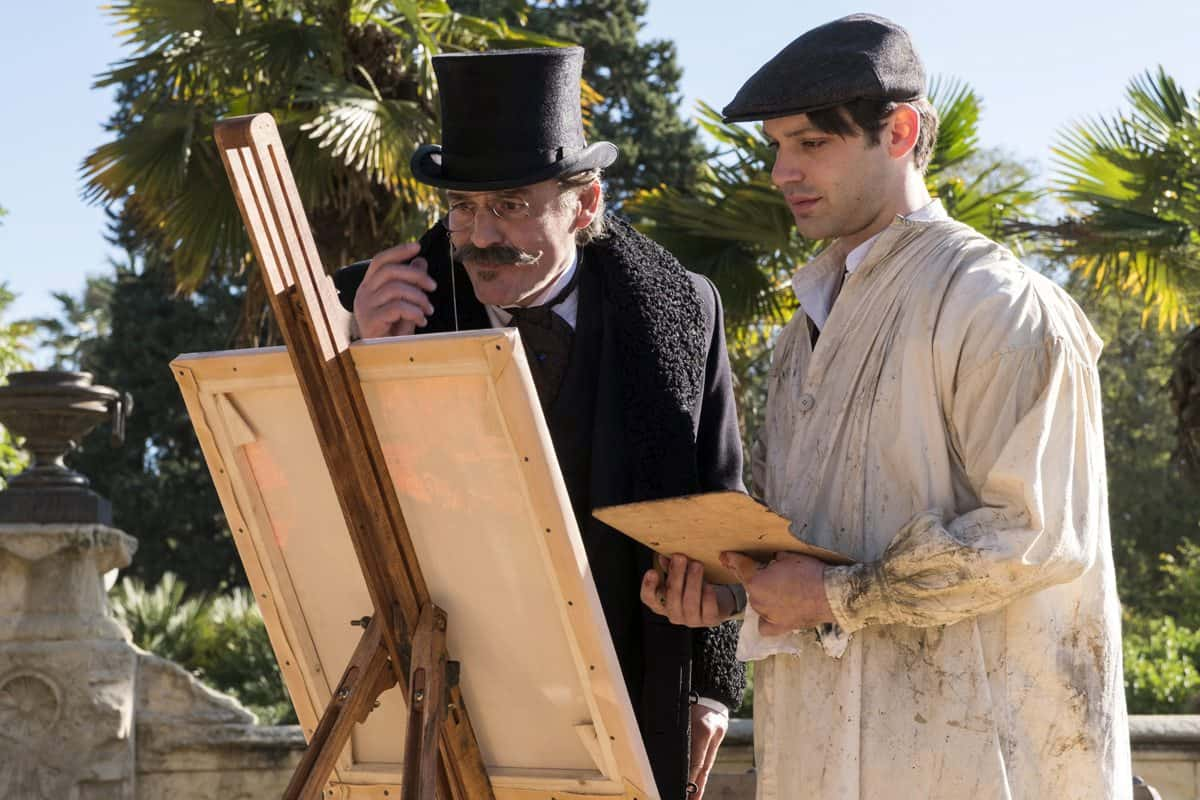 Alex Rich plays young Picasso in <em>Genius</em> (National Geographic/Dusan Martincek)