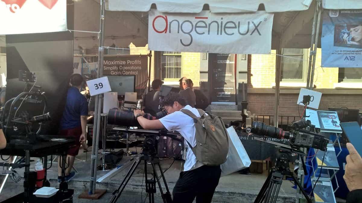 Angénieux's presence at Cine Gear