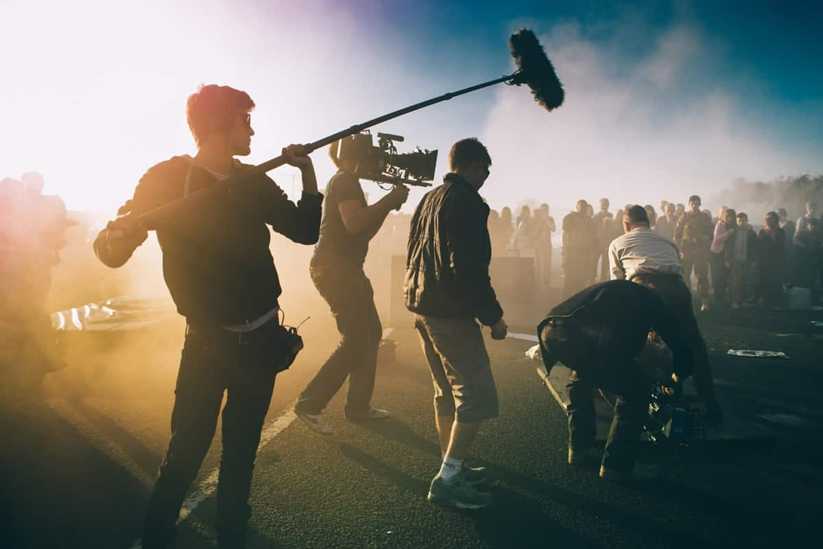 James Oldham operating for DP Lorenzo Levrini on the set of <em>Redcon-1</em> | Feature Film | Credit - www.photographybyzak.com