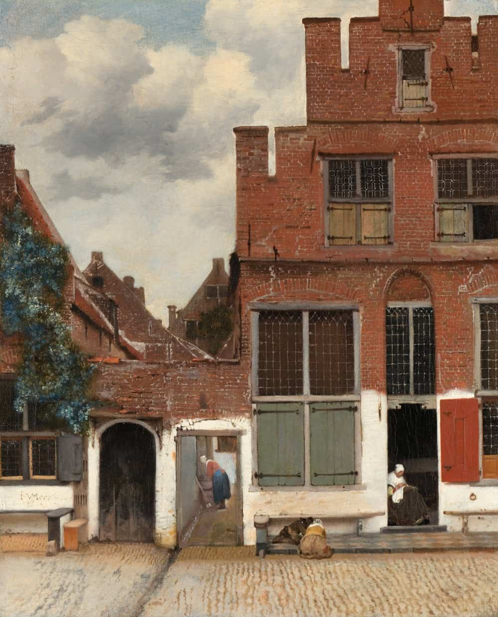 "Johannes Vermeer ""The Little Street"""