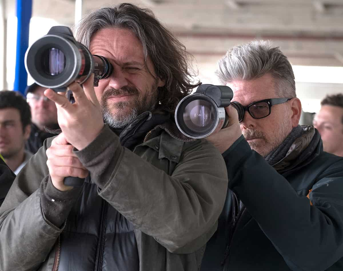 DP Rob Hardy and Director Christopher McQuarrie