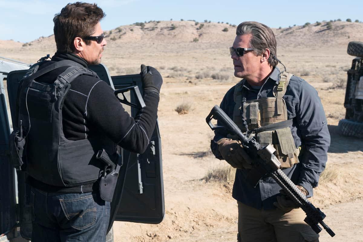 Benicio Del Toro and Josh Brolin star in SICARIO 2: SOLDADO.