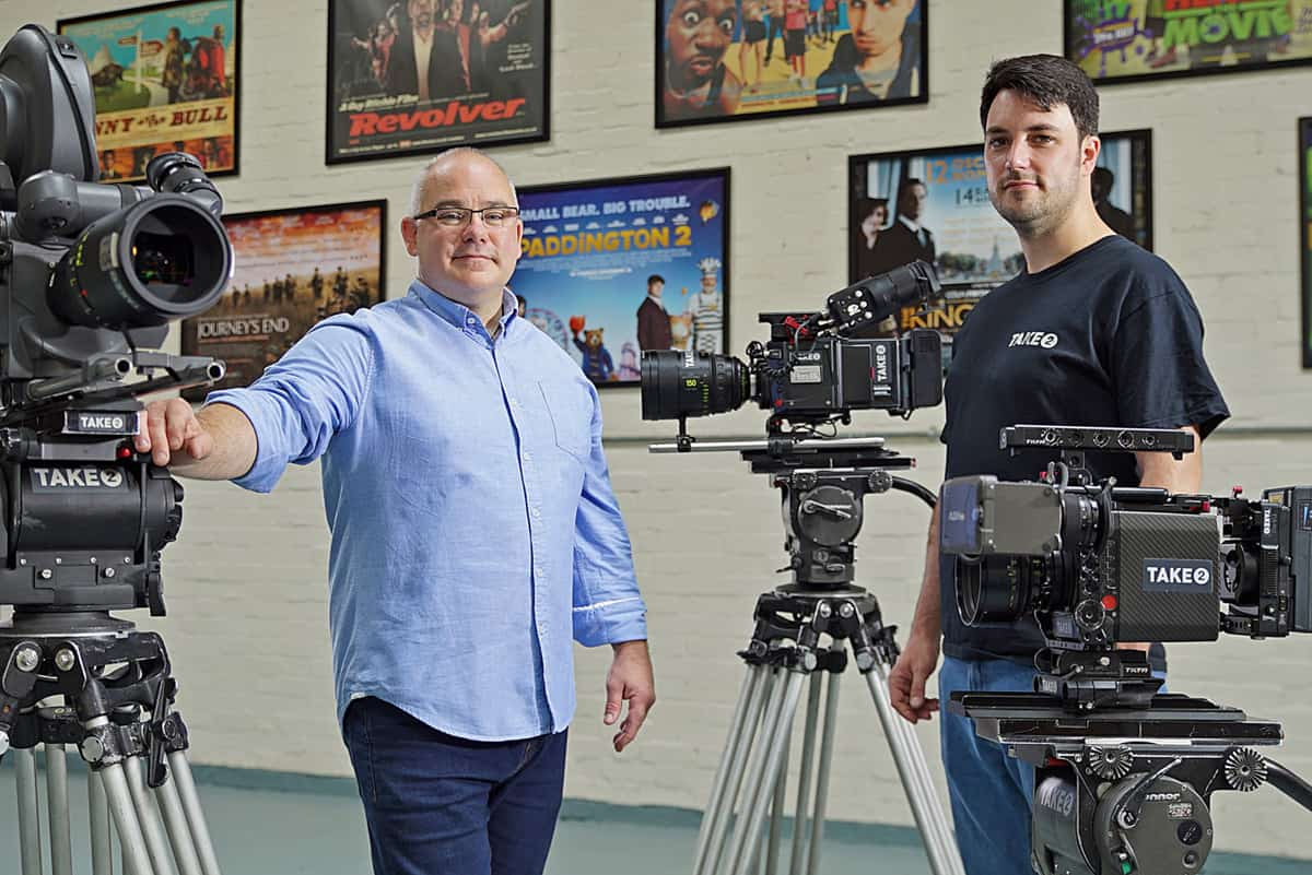 Mike Watson, Head of Technical Operations and Francis Hughes, Camera Floor Manager